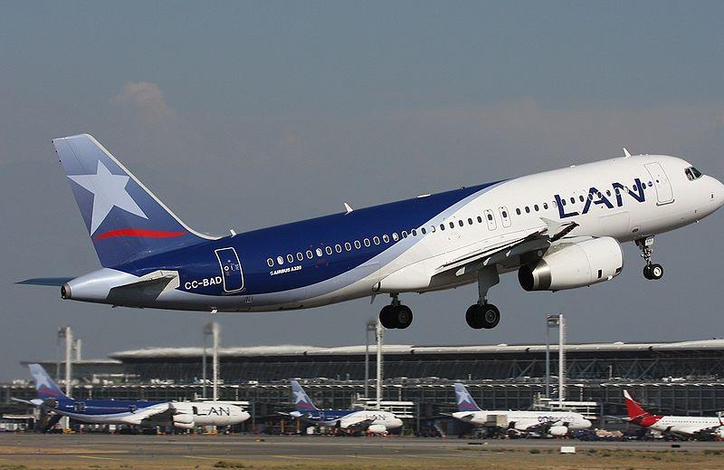 Airbus A320 Lan Chile