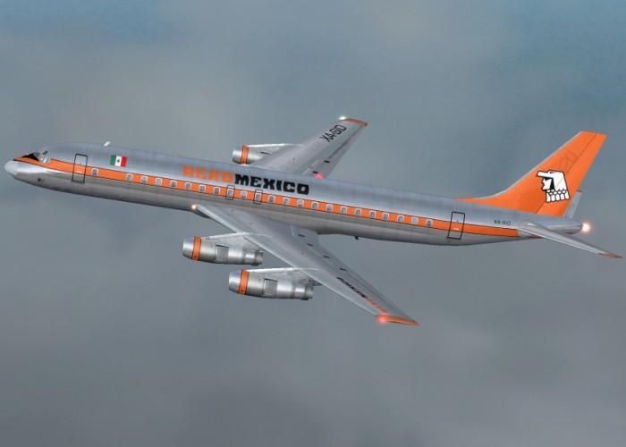 Aeroméxico DC-8 50