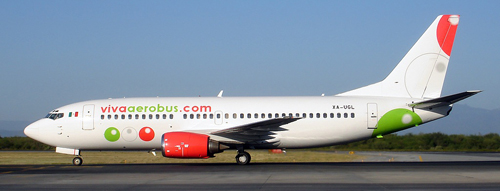 Boeing 737-300 de VivaAerobus.com