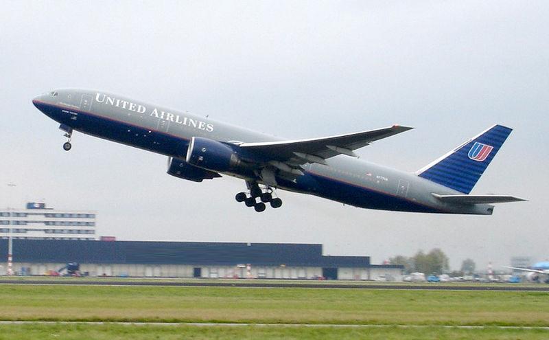 Boeing 777 de United Airlines