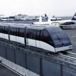 Tren entre terminal 1 y terminal 2 Aeropuerto de la Ciudad de México