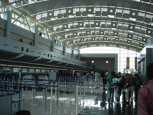 Interior del Aeropuerto Internacional de Monterrey
