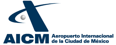 Logo del Aeropuerto Internacional de la Ciudad de México Benito Juárez