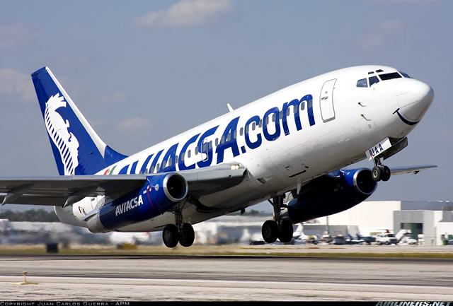 Aerolíneas de México: Aviacsa