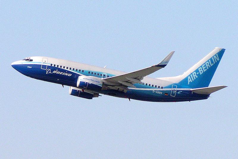 Boeing 737-700 Air Berlin