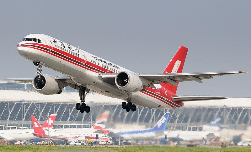 Boeing 757-200 Shanghai Airlines