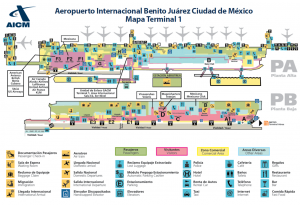 Terminal 1 Aeropuerto Ciudad de México