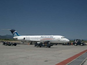 Douglas DC-9 de la Aerolínea Mexicana Aerocaribe