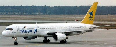 Boeing 757 TAESA